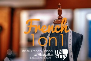 InSitu French School - French 1 on 1 - Cours de français à Montpellier