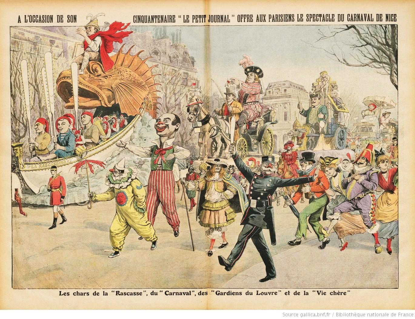 Le Carnaval de Nice au XIXe siècle