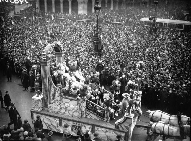 Carnaval à Paris en 1928