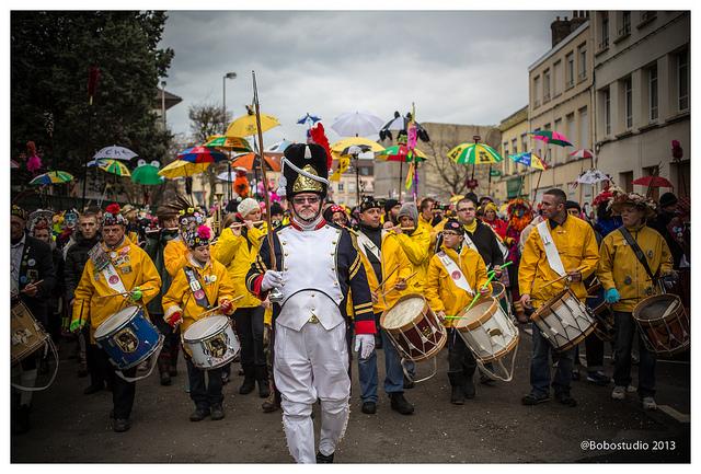 Clique au Carnaval de Dunkerque