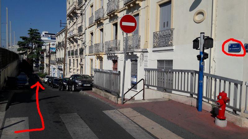 Aller à InSitu French School depuis la gare Montpellier-Saint Roch
