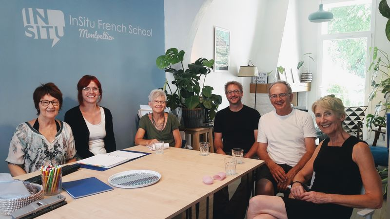 French Coffee and Conversation at InSitu French School