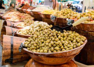 Marché de typique de la Provence